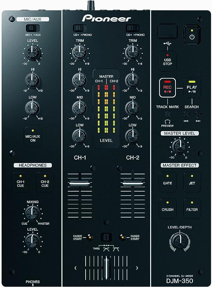 Pioneer DJM-350 - Mesa de mezcla: Amazon.es: Electrónica