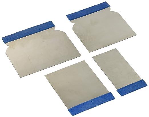 2 opinioni per Silverline Tools 427734- Set composto da 4 spatole in acciaio inox per stuccare