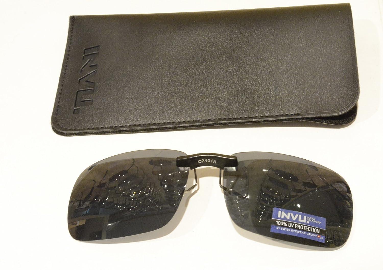 INVU - Gafas de sol polarizadas para usar sobre las gafas fijas ...