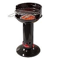 Loewy 40 Barbecook Säulengrill XXL schwarz Pillar Garten Balkon Camping ✔ rund ✔ stehend grillen ✔ Grillen mit Holzkohle