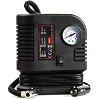 Tyre Inflator Compressor Air Tool 12v Top of the Range Heavy Duty Mini Emergency Tyre Compressor Car Tyre Inflator or for Bike/Bicycle Tyres for up to 250PSI