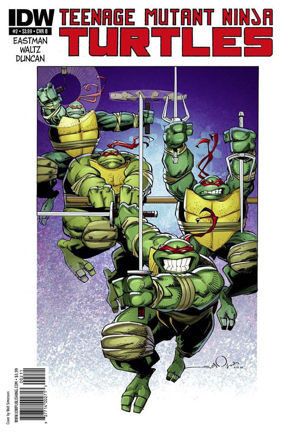 Teenage Mutant Ninja Turtles #2 Walter Simonson Cover ...
