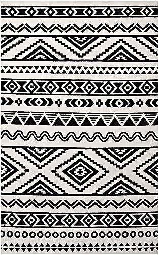 Modway Haku Geometric Moroccan Tribal 5×8 Area Rug