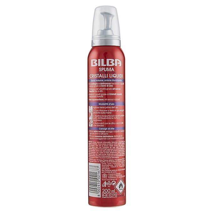 Bilba Spuma Extraforte Semi di Lino e Cristalli Liquidi - 200 ml   Amazon.it  Bellezza 87b881255ca8