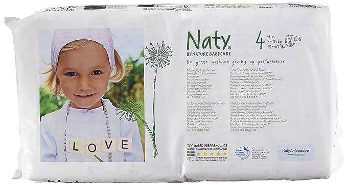 Nature Babycare Pañales desechables, 7-18 kg: Amazon.es: Salud y cuidado personal