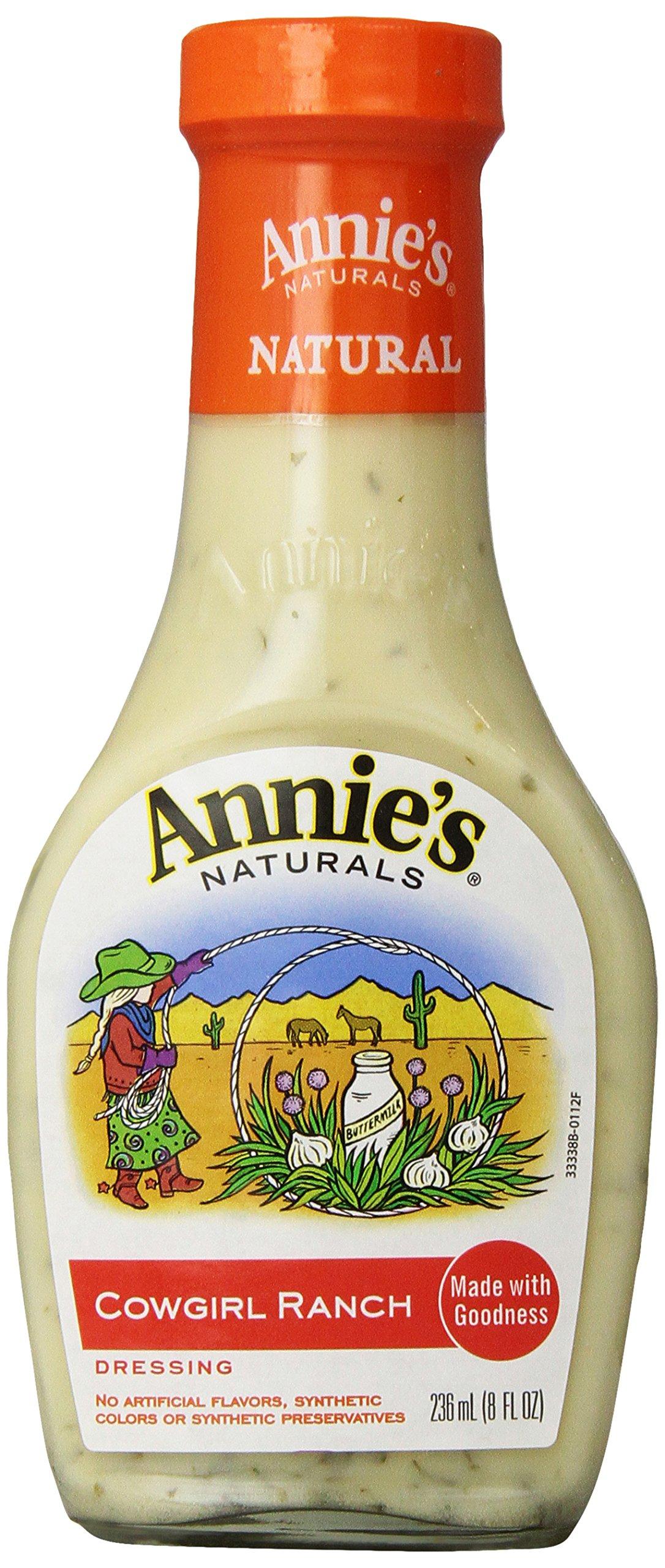 Annie's Cowgirl Ranch Dressing 8 fl oz Bottle