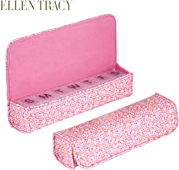 Ellen Tracy Small Weekly Pill Case - Vitamins, Pill Organizer For Traveling - 7 Compartment