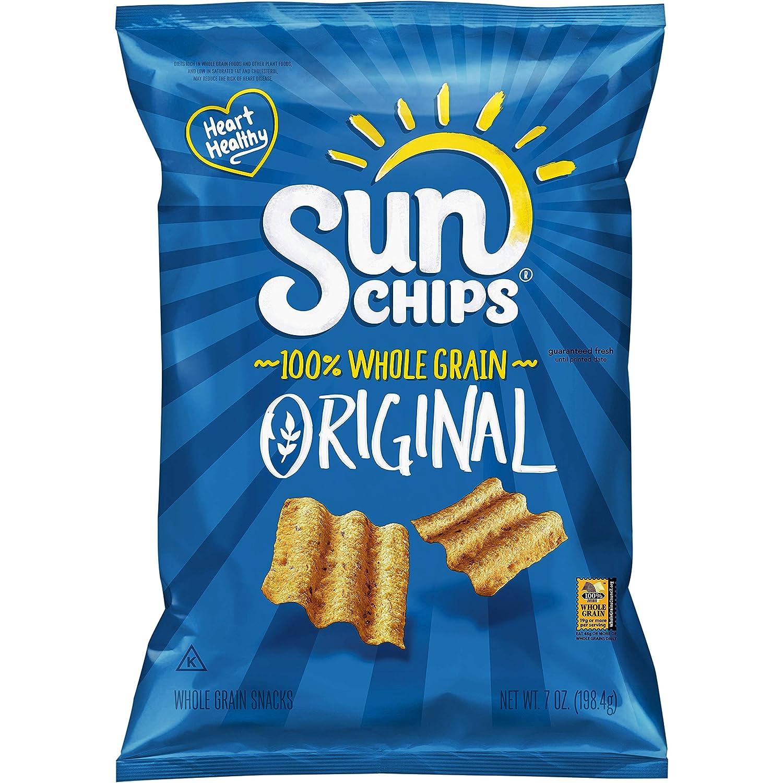 Sunchips Multigrain Chips, Original, 7oz Bag