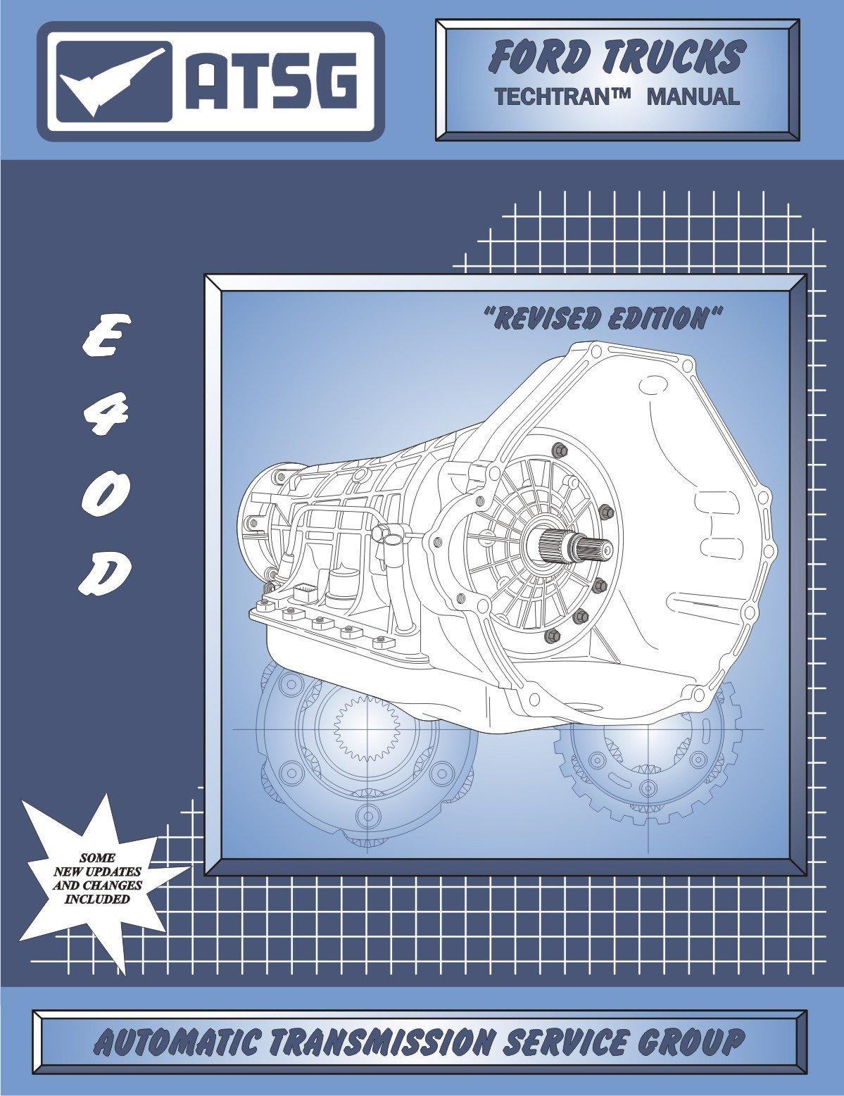 atsg ford e4od techtran transmission rebuild manual e40d automatic rh amazon com Automatic Transmission Repair Manual Chilton Automatic Transmission Wiring Harness Spacer