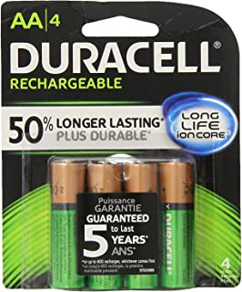 Amazon.com: Duracell - Ion Speed 4000 Battery Charger with 2 ...