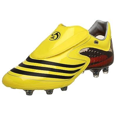 adidas Men's F50.8 TUNiT Soccer Shoe,Lemon/Black/Silver,6.5