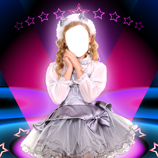Kids Costumes Photo Montages -