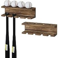 tama/ño Tama/ño libre color 1 juego. Nakw88 2 soportes para bate de b/éisbol soporte de exhibici/ón de bate de b/éisbol soporte de pared horizontal para bate de b/éisbol