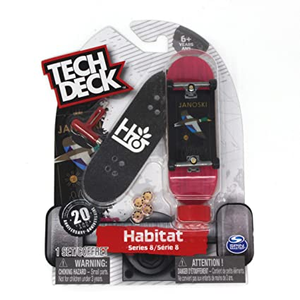 Tech Deck Series 8 Habitat Skateboards Stefan Janoski Mallard Duck Ultra  Rare Fingerboard