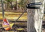 XL Hammock Straps - Hammock Tree Straps Set Versatile 2000+ LBS Heavy Duty 40 Loops & 100% No Stretch Suspension System Kit - Camping Hammock Accessories