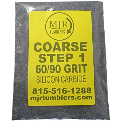 MJR Tumblers 5 LB per Polish 60 90 Silicon Carbide Rock Refill Grit Abrasive Media Step 1 USA: Toys & Games