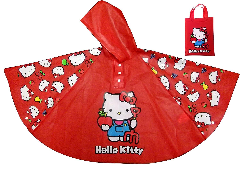 d66138bbe Amazon.com: BB Designs Hello Kitty Poncho Style Rain Coat: Toys & Games