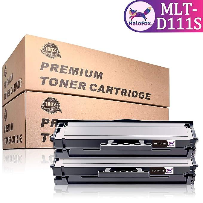 13 opinioni per HaloFox 2 Cartucce toner MLT-D111S Nero Sostituire per Samsung Xpress M2078W
