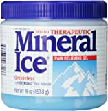 Mineral Ice Therapeutic Pain Relieving Gel, 16 Ounce Jar