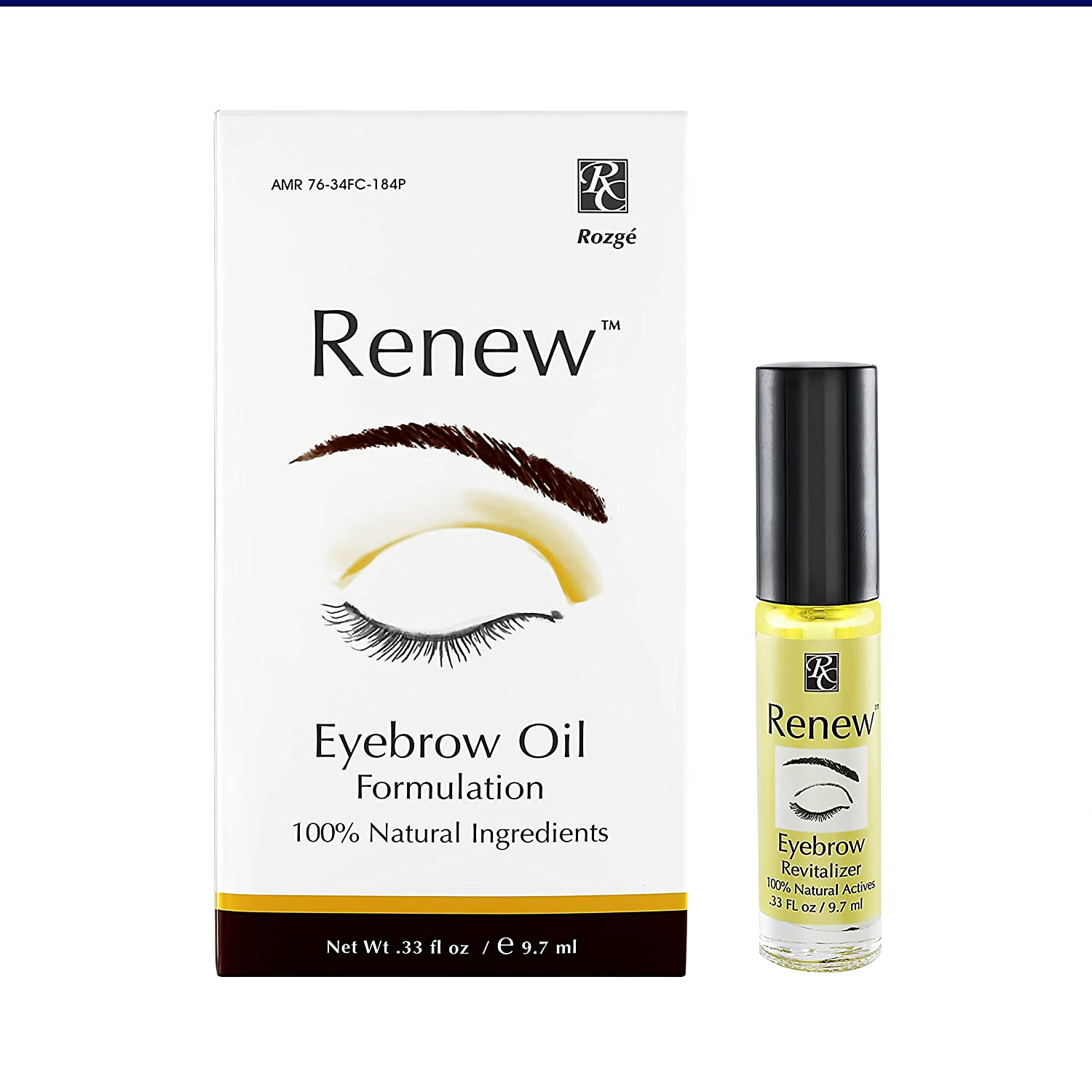 Amazon Renew Eyebrow Revitalizer Eyebrow Growth Oil All