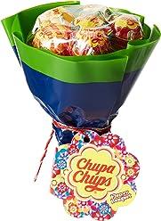 Chupa Chups Flower Bouquet Composé de 6 Sucettes de 12 g