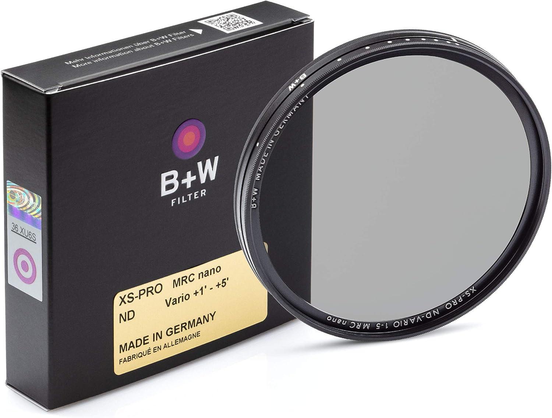 B W Graufilter Nd Vario Variabel Nd2 32 58mm Mrc Nano Xs Pro 16x Vergütet Premium
