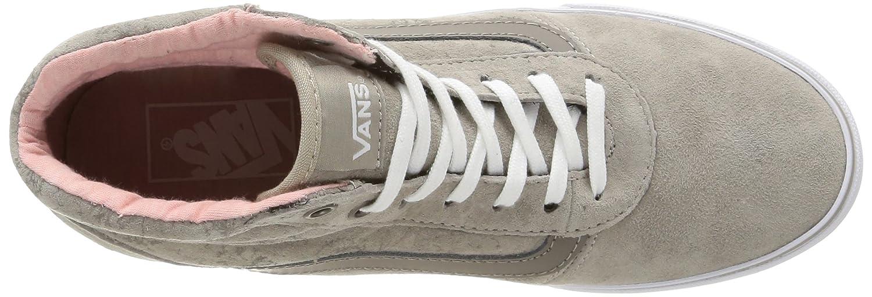 Vans (Mte/Alluminum) Milton Damen Sneakers Grau (Mte/Alluminum) Vans 0e1821