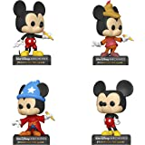 Funko Disney: POP! Archives Collectors Set 1 - Classic Mickey, Sorcerer Mickey, Beanstalk Mickey, Mickey Mouse