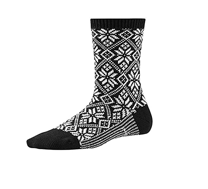 1e7444475b9b7 SmartWool Women's Traditional Snowflake at Amazon Women's Clothing store: