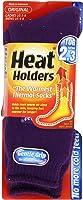 Grabber Warmers LHHORGPUR Thermal Socks, Purple, Ladies' Size 5-9