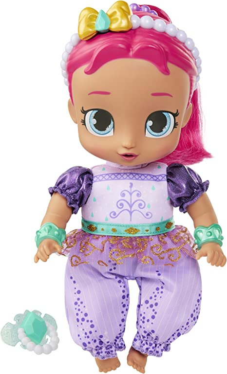 """Shimmer and Shine 10.5"""" Genie Babies Baby Doll"""