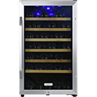 EdgeStar CWF440SZ 20 Inch Wide 44 Bottle Capacity Free Standing Wine Cooler with