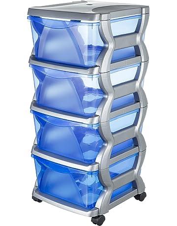 Cassettiere Alte E Strette Ikea.Cassettiere Di Stoccaggio Amazon It