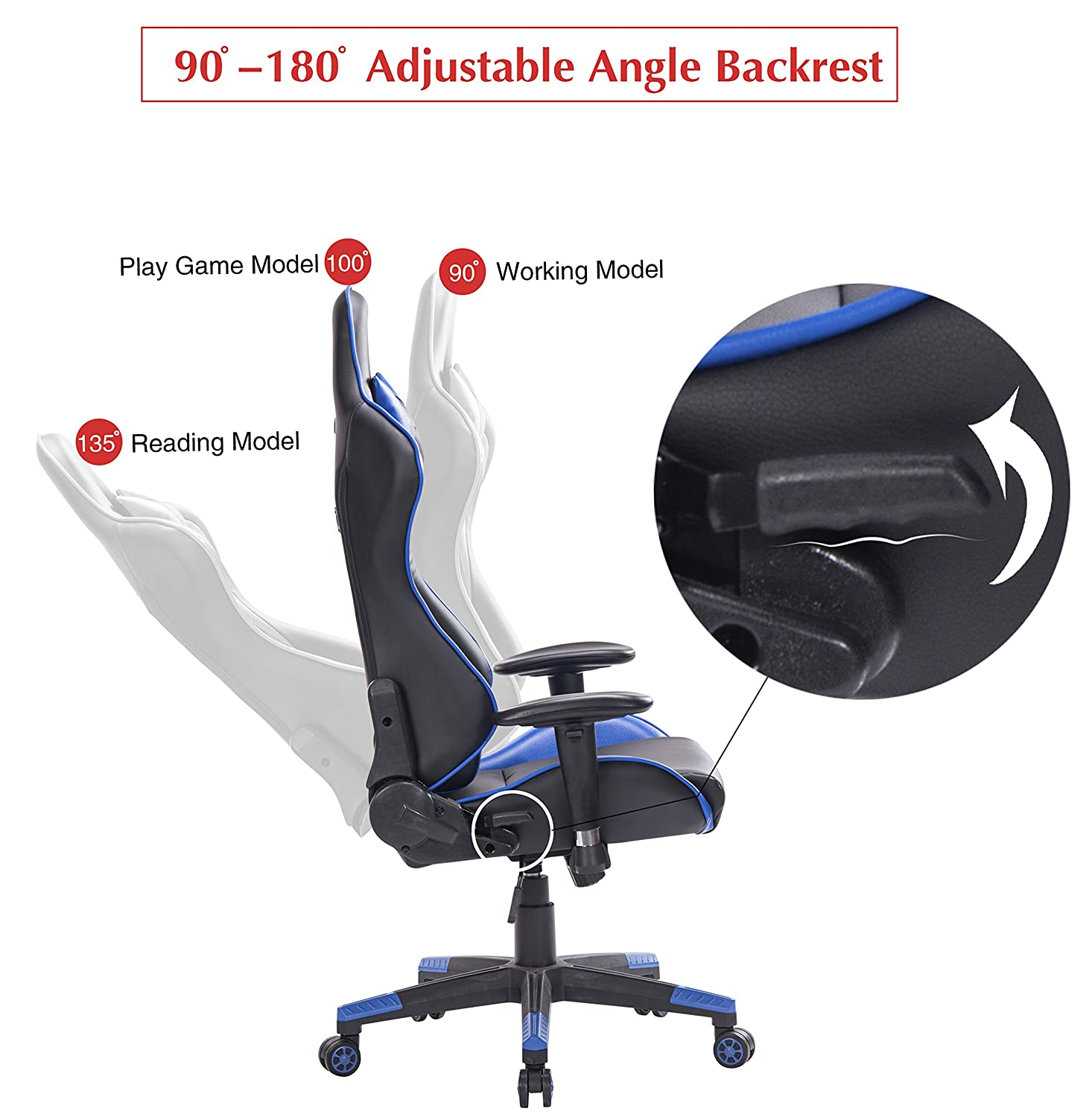 Amazon Top Gamer PC Gaming Chair Video Game Chairs for