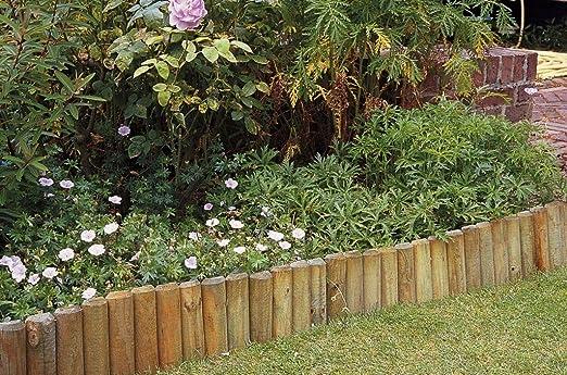 Apollo Gardening - Bordillo para Parterre (en Rollo, 5 x 30 x 180 cm): Amazon.es: Jardín