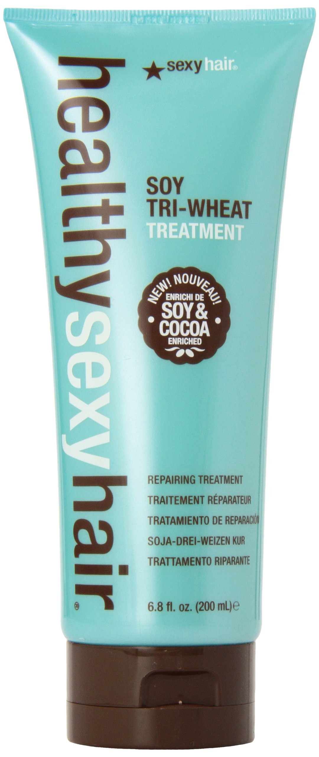 Sexy Hair Healthy Soy Tri-Wheat Unisex Treatment, 6.8 Ounce