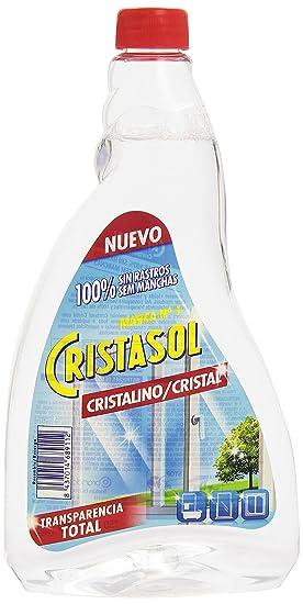 Cristasol Limpia Cristales, Transparencia Total - 0,75 l: Amazon.es: Amazon Pantry