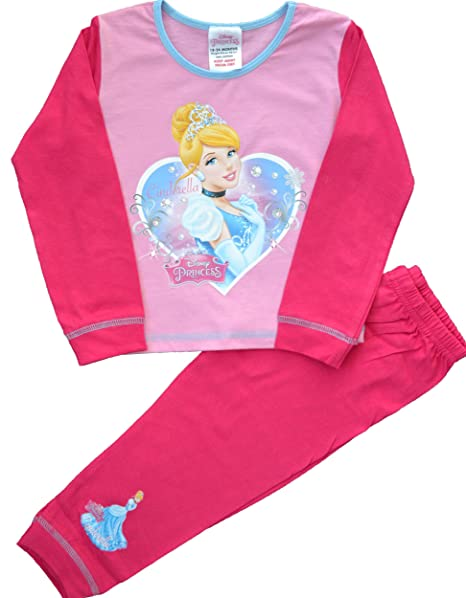 881011d47 Girls Disney Princess Cinderella Pyjamas Size 4-5 Years  Amazon.co ...