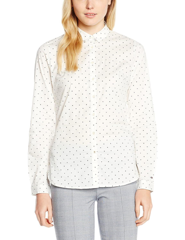 Tommy Hilfiger Damen Bluse Karissa Shirt Ls W2