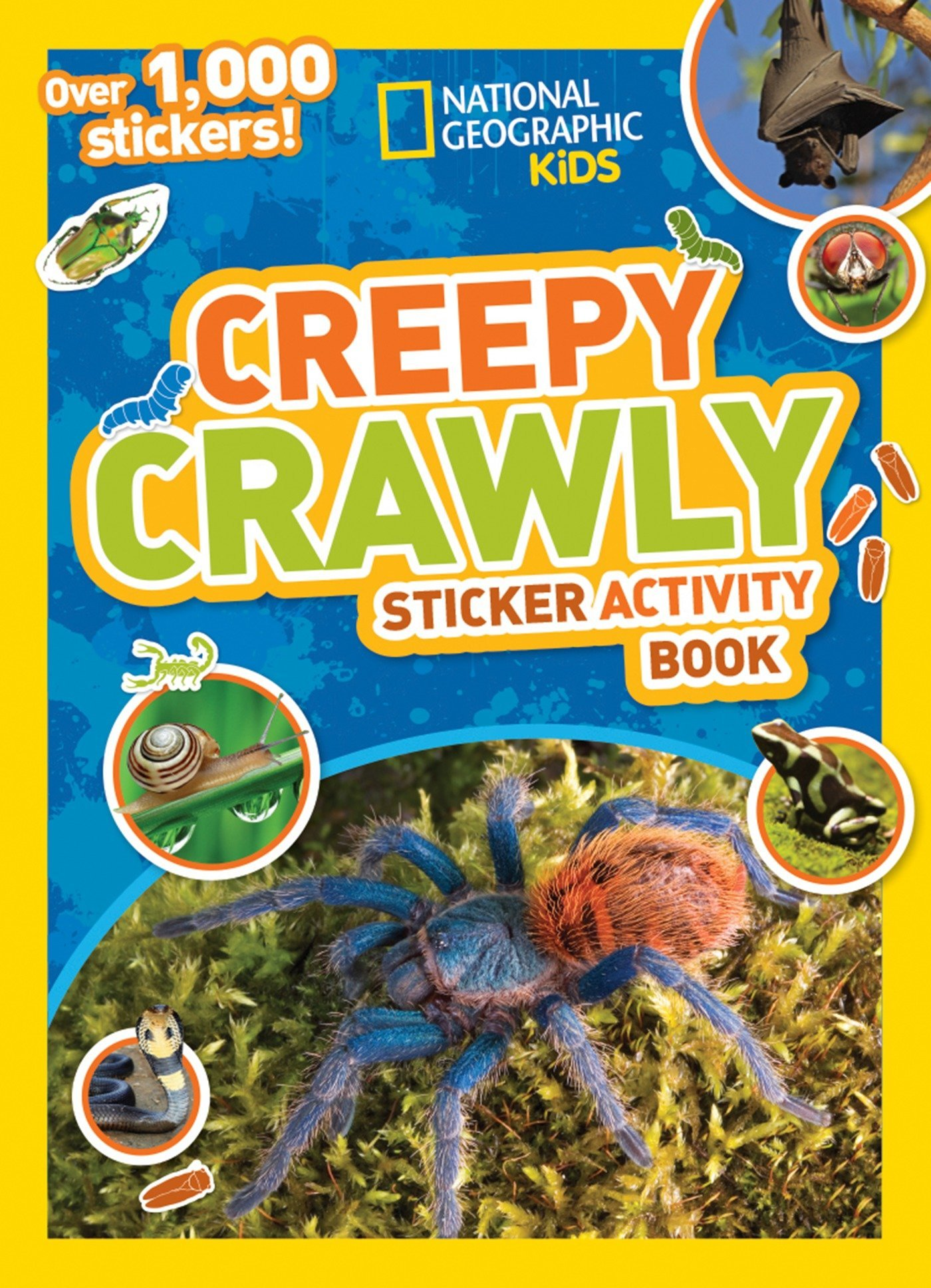 Creepy Crawly Sticker Activity Book: Over 1000 stickers! (National Geographic Sticker Activity Book)