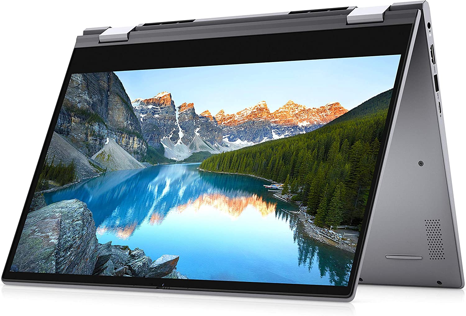 2021 Dell Inspiron 5000 Series 2-in-1 Laptop 14 inch FHD IPS Touchscreen 10th Gen Intel i5-1035G1- 8GB DDR4 512GB NVMe SSD Win 10 Home Backlit Keyboard w/ Ontrend 32GB USB Drive
