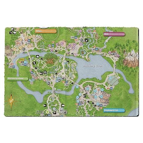 Amazon.com : Animal Kingdom Map Door Mat - Small Door Mat ...