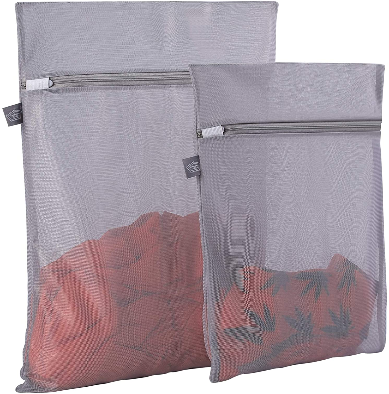 Mesh Laundry Bag Travel Clothes Storage Net Zip Bag Wash Bra Stocking Underwear/%