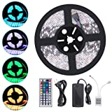 Amazon Price History for:iHomy 16.4ft LED Flexible Light Strip, RGB 300 LEDs SMD 5050, LED Strip Lights, 12V DC Waterproof, Light Strips, LED ribbon, DIY Christmas Holiday Home Kitchen Car Bar Indoor Ceiling Party Decoration