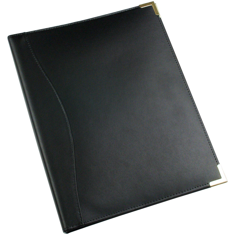 Quaderno esecutivo in pelle ad 4 anelli Esposti Ltd