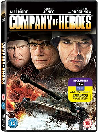 Company Of Heroes Dvd Uv Copy Amazon Co Uk Tom Sizemore Chad Michael Collins Vinnie Jones Tom Sizemore Chad Michael Collins Dvd Blu Ray