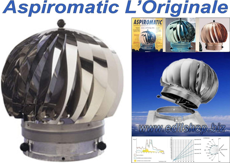 Aspirador eolico 160 mm: Amazon.es: Bricolaje y herramientas