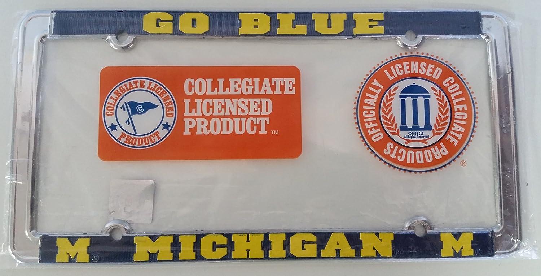 Michigan Wolverines Alumni Metal License Plate Frame New Car Auto Truck ET2