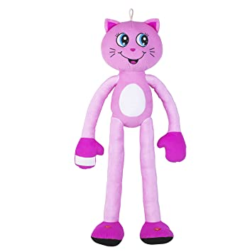 Stretchkins Light Up Cat Plush Toy Pink Stretchkins Amazoncouk