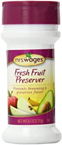 Mrs. Wages Fresh Fruit Preserver, 6-Ounce Shaker Bottle(Pack of 6)